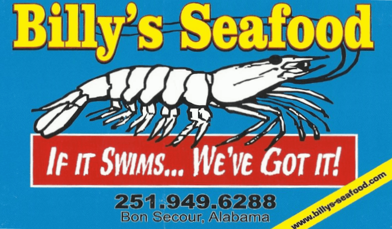 Seafood Market | Bon Secour, AL | Billy's Seafood Inc