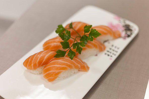 Un po' di salmon allo stile giapponese?