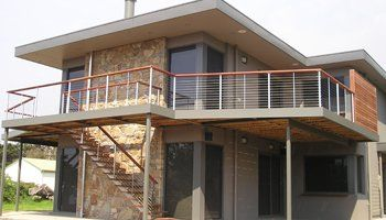 balconies and decks