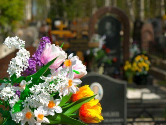 corone funebri, cuscinetti di fiori, addobbi funebri