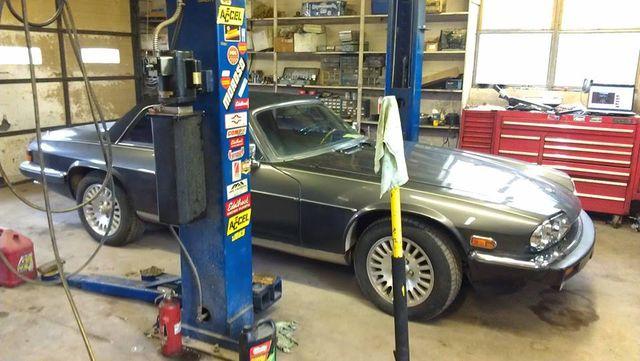 A foreign car repair in progress in Mountain Home, AR