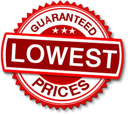 Lowest guaranteed prices logo