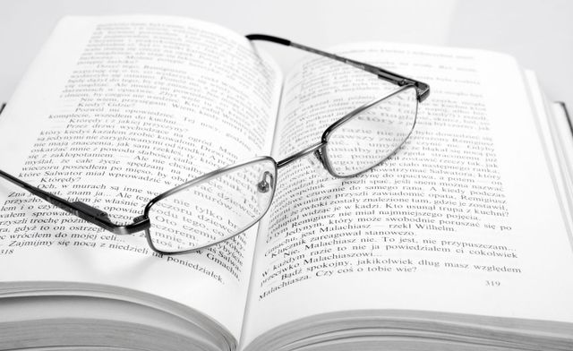 Legal book and spectacles for legal support in Commerce, GA