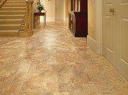 parquet style hallway flooring