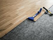 fitting engineered wooden flooring