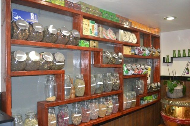 Our tea display