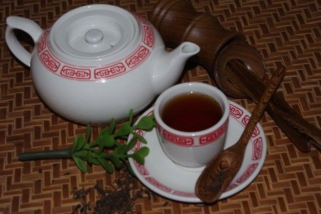 Ancient and healing teas in Chinese restaurant in Tomah, MO