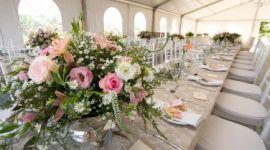 allestimento floreale ristoranti, allestimento floreale tavoli, allestimento con fiori recisi