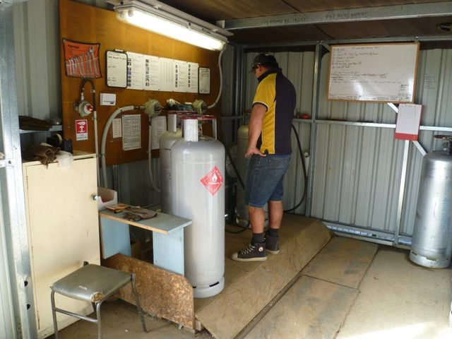 Gas filling services