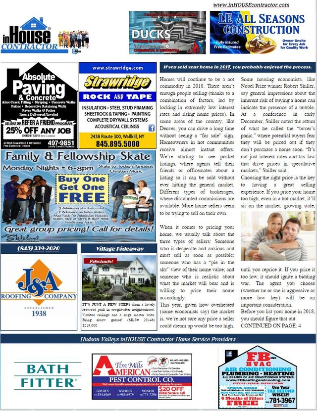 HOME SOLUTIONS ONLINE MAGAZINE For Orlando and Hudson Valley NY