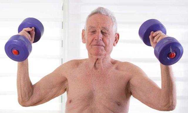Elderly exercise program