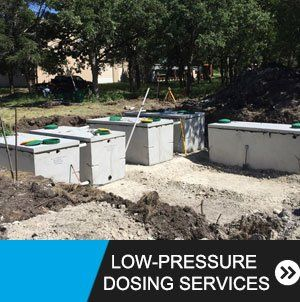 Low-Pressure Dosing Services Caldwell & Somerville, TX