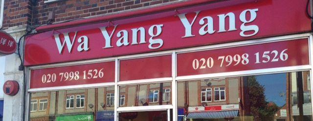 Chinese Takeaway South Croydon Wa Yang Yang