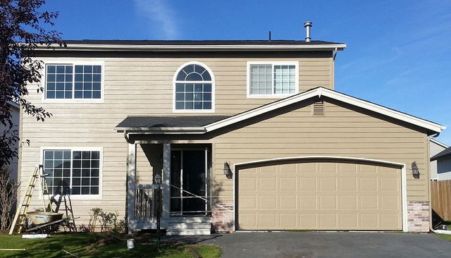 Drywall repair anchorage ak a g painting - Exterior house painting anchorage ...