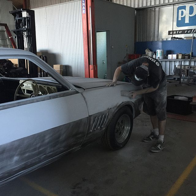 buffing the paint