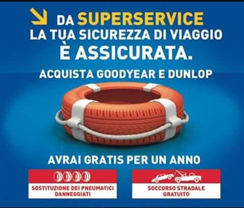 Promozione sicurezza GoodYear e Dunlop a Napoli