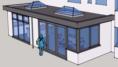 Single Storey Rear Extension   3D Sketch Proposal