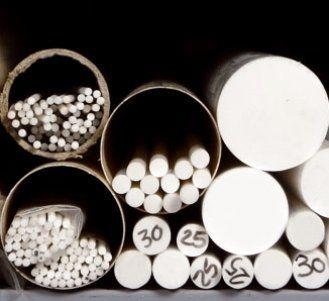 materie plastiche semilavorate