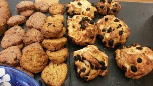 Biscotti prodotti nel laboratorio artigianale