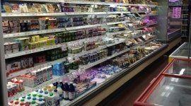 Reparto frigo del supermercato
