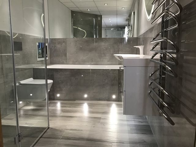 Merveilleux ... Consider Lighting When Youu0027re Planning To Redesign Your Bathroom? Itu0027s  An Important Question We Like To Ask Our Customers When They Visit Our  Showroom.