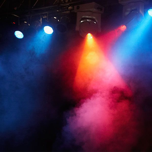 Lighting equipment hire in Springlands