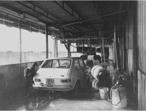 L'officina di Paderno Dugnano negli anni Settanta