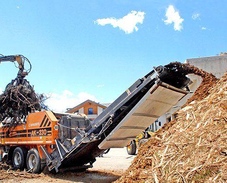 Riciclaggio legno tra Moena e Tesero