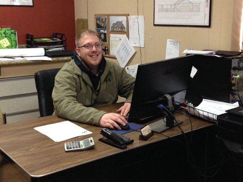 Derek Lunde, draftsman to provide best home design services in West Salem, WI