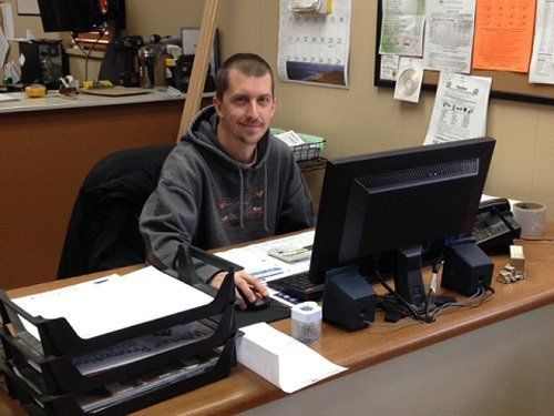 Nick Bonsall for inside sales support at home design services company in West Salen, WI