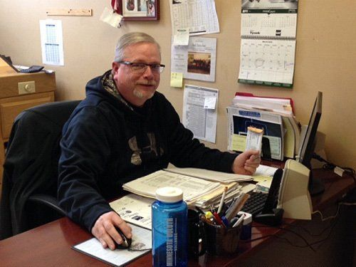 Ted Tauscher handling outside sales at home design services company in West Salem