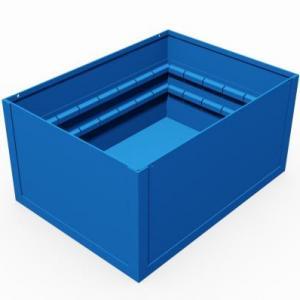 contenitore con separatori smontabili