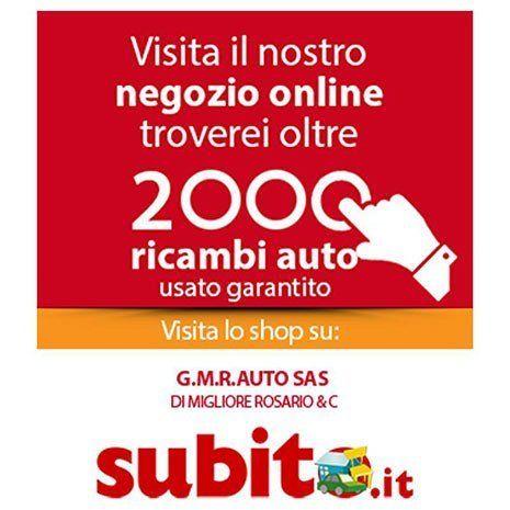 Oltre 2000 ricambi auto usato garantito a GM Autoricambi a Pozzallo