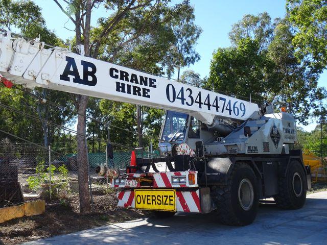Oversize Crane