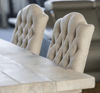 sedie imbottite, sedie per soggiorni, sedie design