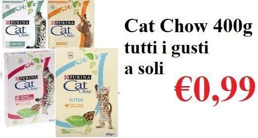Cat Chow cibo per gatti varese
