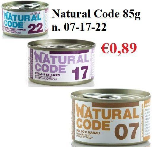 Natural Code cibo per gatti Varese