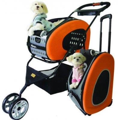 Trasportino doppio con ruote per cani di piccola taglia- La casa degli Animali- Varese