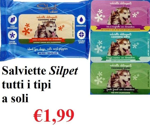 Salviette Silpet per cani Varese
