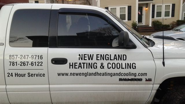 heating repair company logo
