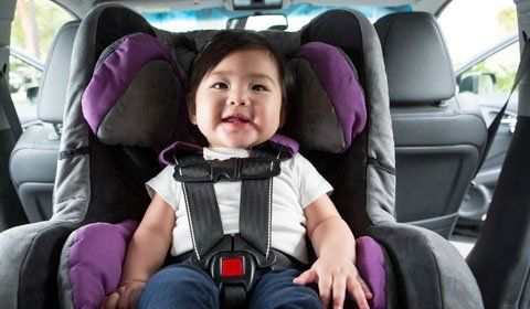 Taxis with child seat