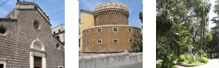 area vesuviana, monumenti medievali, borgo storico