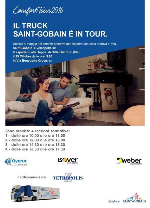 pubblicita Comfort tour 2016