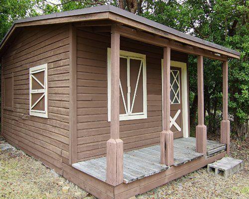 wooden garden building