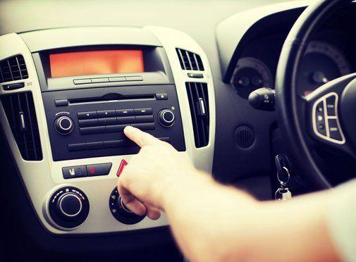 car settings panel