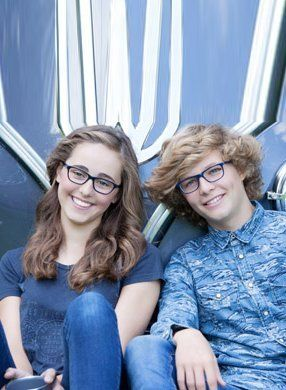 Designer teen spectacles