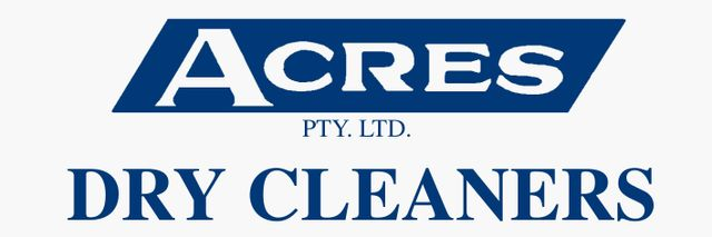 acres dry cleaning logo