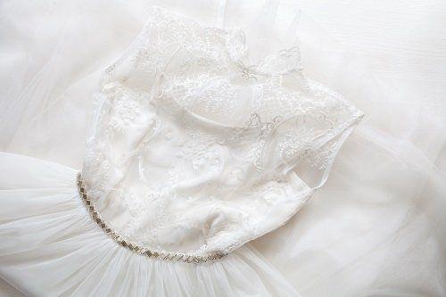 un abito da sposa