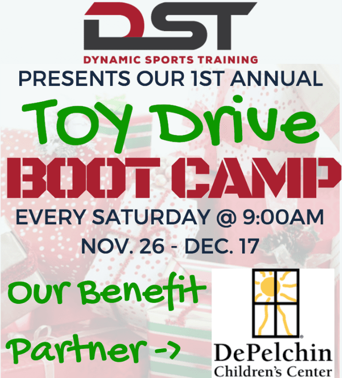 DST Toy Drive Boot Camp