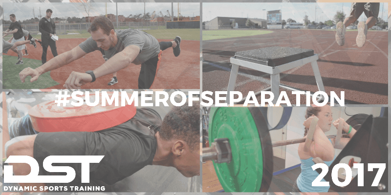 Summer Speed and Strength Training in Houston, Texas for Youth, High School, and College Athletes